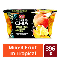 S&W Fruit & Chia Cups - Mixed Fruit in Tropical
