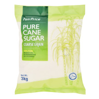 FairPrice Pure Cane Sugar - Coarse Grain 3KG