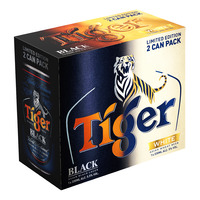 Tiger Can Beer - Black & White