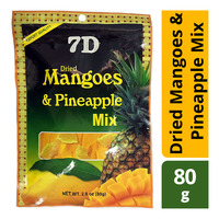 7D Dried Mangoes & Pineapple Mix