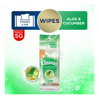 Kleenex Hand & Face Moist Wipes - Refreshing