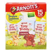 Arnott's Tiny Teddy Biscuits - Assorted