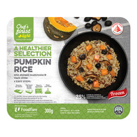Chef's Finest Ready Meal - Pumpkin Rice