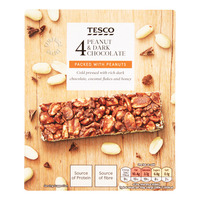 Tesco Protein Bars - Peanut & Dark Chocolate