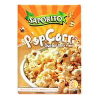 Saporito Microwave Popcorn - Butter