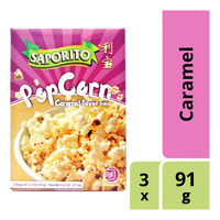 Saporito Microwave Popcorn - Caramel