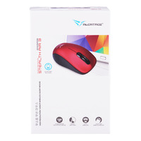 Alcatroz Stealth Air 3 Wireless Mouse - Metilic Red