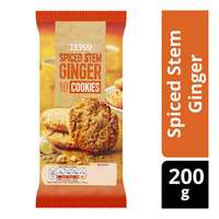 Tesco Cookies - Spiced Stem Ginger