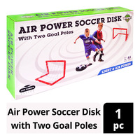 Unitedsports Air Power Soccer Disk with Two Goal Poles