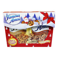Famous Amos Cookies Christmas Gift Pack