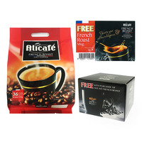 Alicafe 3 in 1 Instant Coffee - French Roast + Free Mug