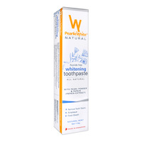 Pearlie White Whitening Toothpaste - Mint (Pearl Powder & Papain)