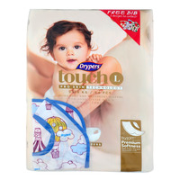 Drypers Touch Diapers - L (9 - 14kg) + Free Bib 54S