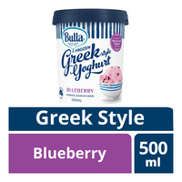 Bulla Frozen Greek Style Yoghurt - Blueberry