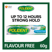 Polident Denture Adhesive Cream - Flavour Free
