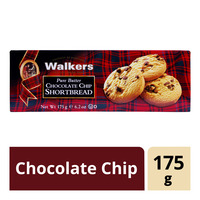 Walkers Shortbread Cookies - Chocolate Chip