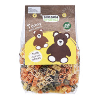 Little Pasta Organics Pasta Shapes - Tricoloured Teddy