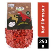 Little Pasta Organics Pasta Shapes - Red Dinosaur