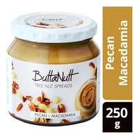 ButtaNutt Tree Nut Spreads - Pecan Macadamia