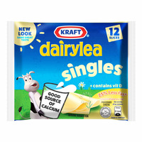 Kraft Hi-Calcium Singles Cheese - 25% Less Fat