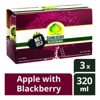 Somersby Can Cider - Apple with Blackberry