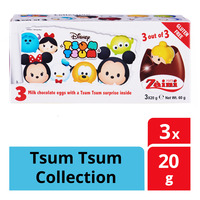 Zaini Disney Milk Chocolate Egg - Tsum Tsum Collection