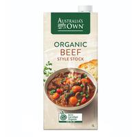 Australia's Own Organic Style Stock - Beef