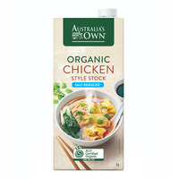 Australia's Own Organic Style Stock - Chicken (Salt Reduced)
