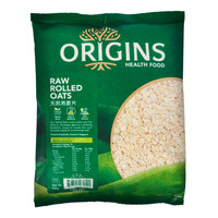 Origins Healthfood Rolled Oats - Raw