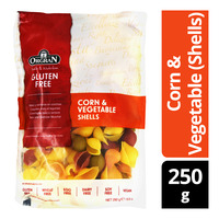 Orgran Gluten Free Pasta - Corn & Vegetable (Shells)
