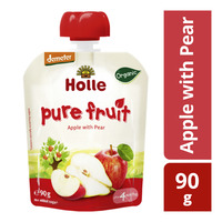 Holle Organic Baby Pure Fruit Pouch - Apple with Pear