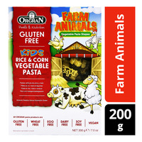 Orgran Gluten Free Kids Vegetable Pasta - Farm Animals