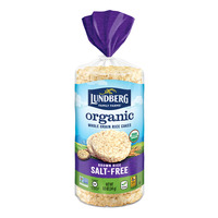 Lunderg Organic Rice Cakes - Brown Rice (Salt-Free)