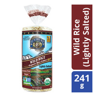 Lunderg Organic Rice Cakes - Wild Rice (Lightly Salted)