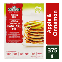 Orgran Gluten Free Pancake Mix - Apple & Cinnamon