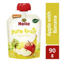 Holle Organic Baby Pure Fruit Pouch - Apple with Banana