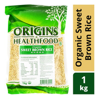 Origins Healthfood Organic Sweet Brown Rice