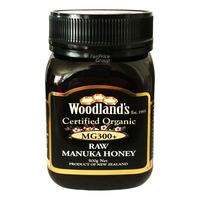 Woodland's Organic Raw Manuka Honey - MG 300+