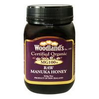 Woodland's Organic Raw Manuka Honey - MG 100+
