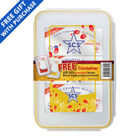 SCS Pure Creamery Butter Block - UnSalted 3S 681G + Container