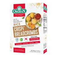 Orgran Gluten Free Crispi Crumbs Breadcrumbs - Rice