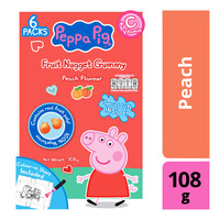 Peppa Pig Vitamin C Fruit Nugget Gummy - Peach