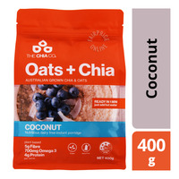 The Chia Co Oats + Chia Instant Porridge - Coconut