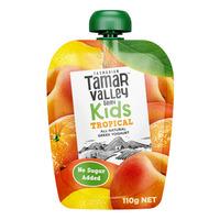 Tamar Valley Dairy Kids Greek Style Yoghurt - Tropical