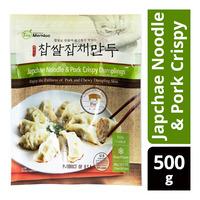 I'm Mandoo Dumplings - Japchae Noodle & Pork Crispy
