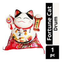 Imported Fortune Cat CNY Decoration - Drum