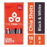 The Chia Co Chia Seed Shots - Black & White