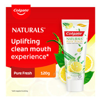 Colgate Naturals Anticativity Toothpaste - Pure Fresh