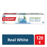 Colgate Naturals Anticavity Toothpaste - Real White