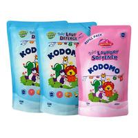 Kodomo Baby Laundry Detergent - Nature Care + Softener 2 x 1L + 800ML
